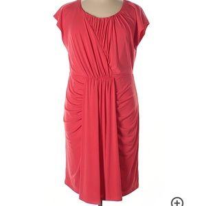 Suzi Chin Coral Drape Dress 14